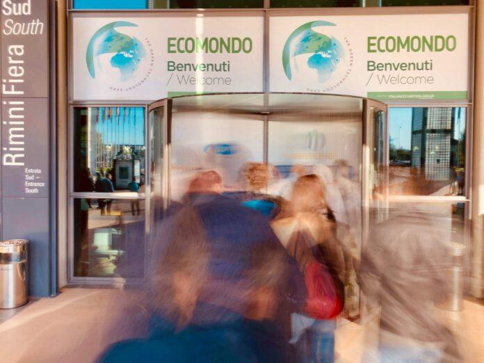 L'entrata della scorsa edizione di Ecomondo